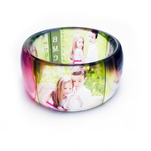 Photo Bangle Bracelet
