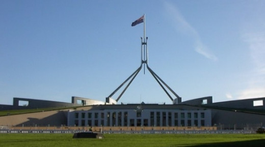 Parliament House is home to the Parliament of Australia.