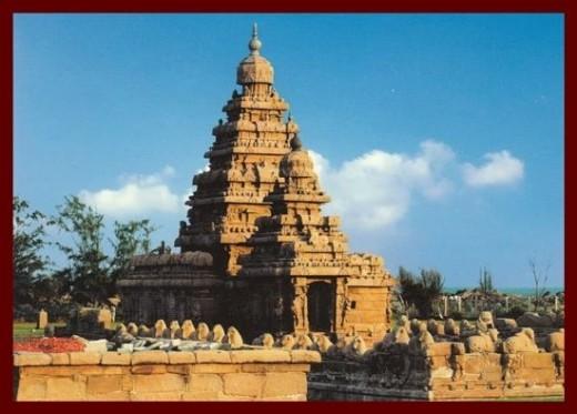 Shore Temple @ Mahabalipuram