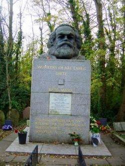 Karl Marx Highgate Cememtery