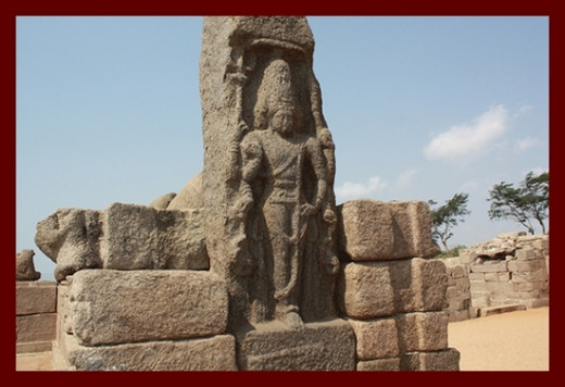 Stone Sculpture @ Shore temple