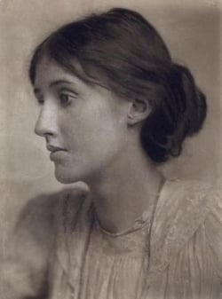 Portrait of Virginia Woolf by George Charles Beresford (1902)
