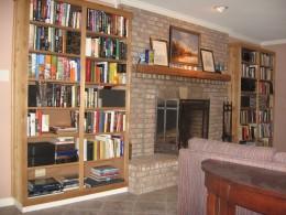 Red Cedar Bookshelves