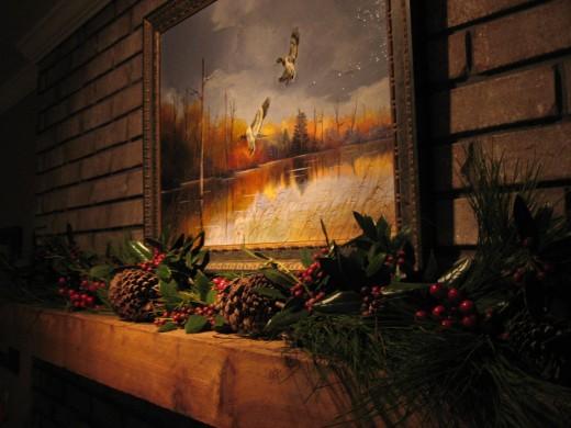 Red Cedar 4 X 12 Fireplace Mantle