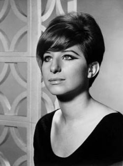 """Publicity photo of Barbra Streisand from her first television special My Name is Barbra"""". Date 6 April 1965"""