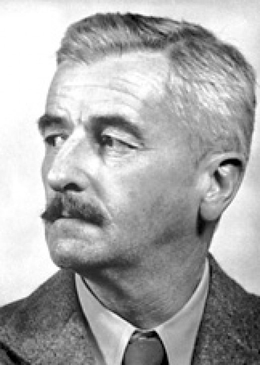 William Faulkner (1897-1962) (image from: nobelprize.org)