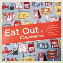Weight Watchers eat out guide