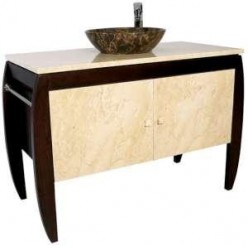 Stone vessel sink vanities are expensive, but in the end, they're probably worth every penny