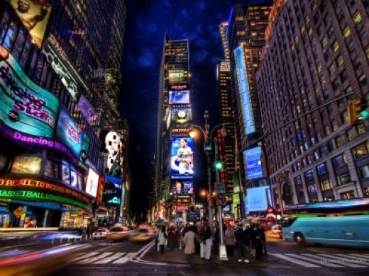 The Heart of Broadway...Times Square