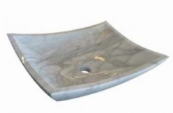 Marble is one of the most prominent stone vessel sink varieties
