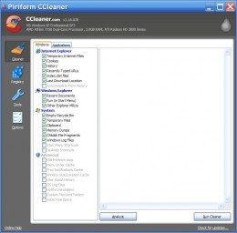 This is the main program window.