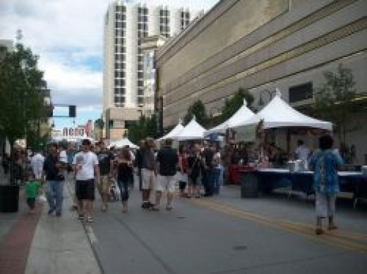 Reno BBQ, Brews, and Blues Festival in Downtown Reno