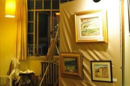 Motel Room Art Gallery