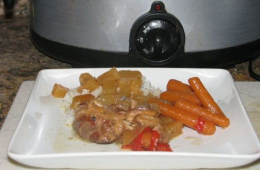 Tangy Crockpot Chicken