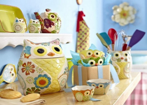Allure Of The Owl In Home Decor