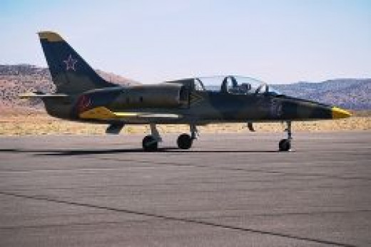 Reno Air Races Jet