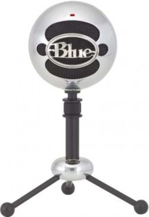 Blue Snowball USB Microphone Stand