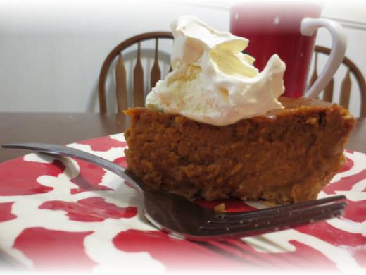 gluten free deep dish pumpkin pie