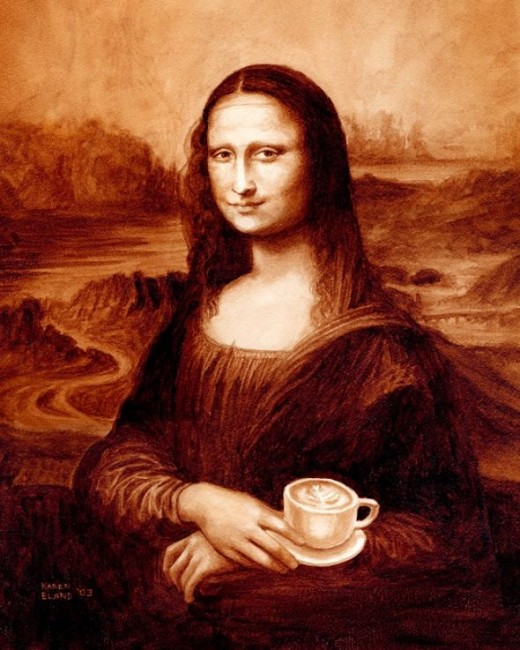 Mona Latte by Karen Eland
