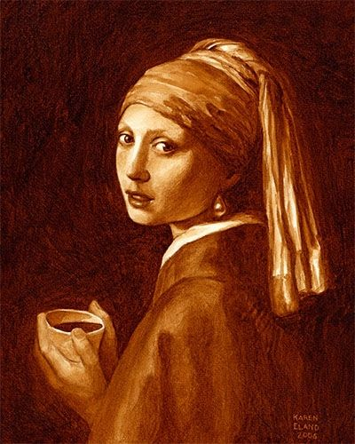 Girl with a Pearl Earring by Karen Eland