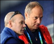 Clive Woodward and Steve Redgrave