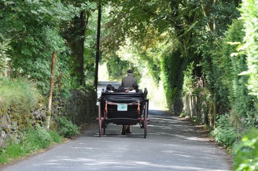 jaunting car ireland