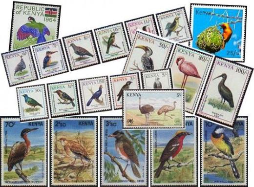 kenya stamps