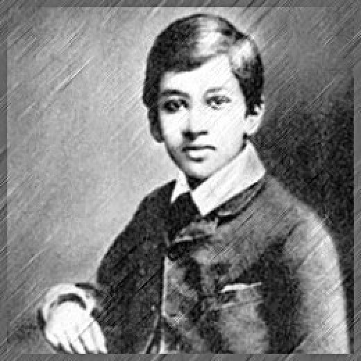Aurobindo's Childhood Photo