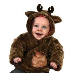 Gund Reindeer Baby Coat Costume