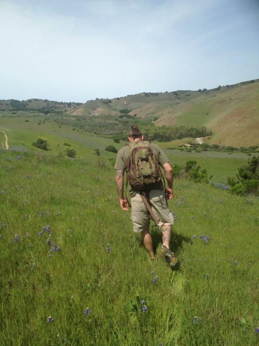 We hike together
