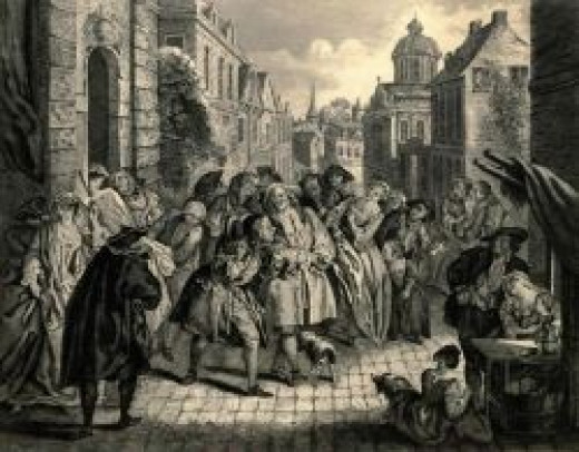 Engraving from Les Contes