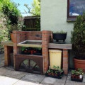 How to make a Cold Frame by utilising your brick BBQ