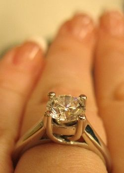 Diamond Mineral Ring