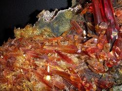 Zincite Mineral Specimen Picture