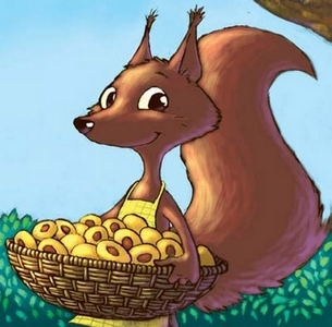 A Squirrel by Gorazd Vahen (Tolovaj Publishing, all rights reserved)