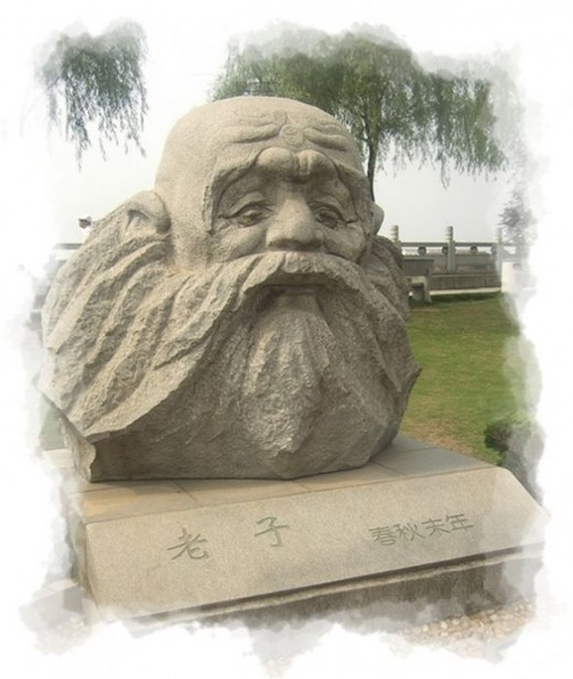 Lao Tzu Sculpture