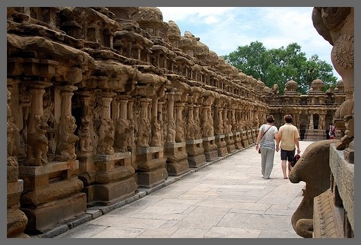 Kanchipuram Temple sculptures