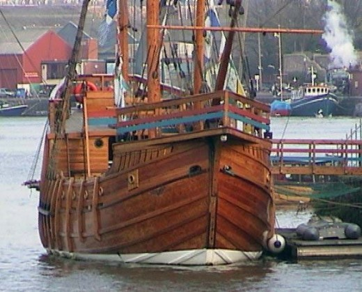 The Matthew in Bristol Docks