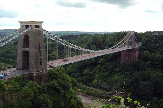 Clifton Suspension Bridge, Avon Gorge, Bristol, England