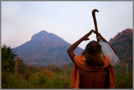 Arunachala - The Holy Hill @ Thiruvannamalai