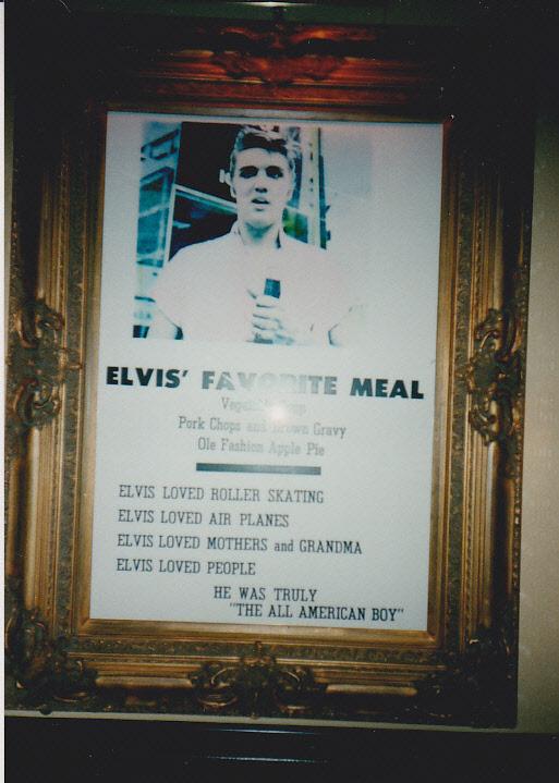 Hard Rock Cafe one of their Elvis memorabilia