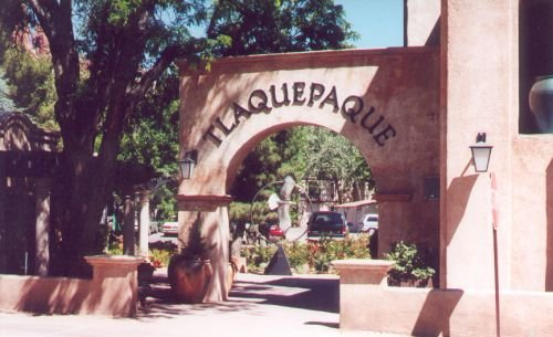Entrance to Tlaquepaque.