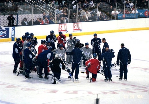 Hockey Huddle