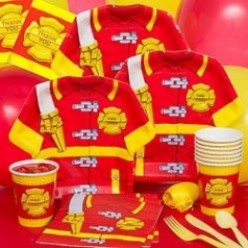 Firefighter Party Tips and Fire Truck Birthday Cake Ideas