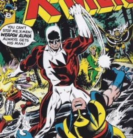 X-Men No. 109 Alpha Flight Weapon Alpha