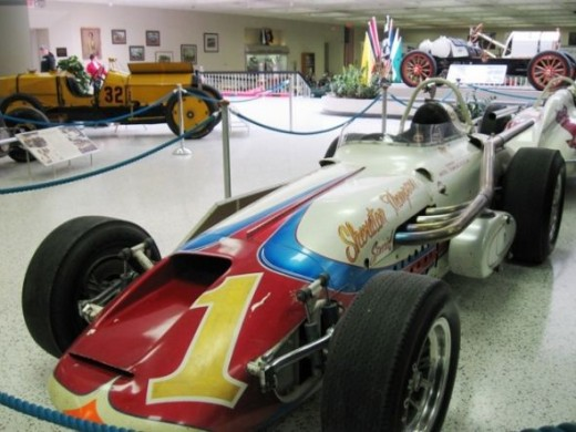 This is another of AJ Foyt's Indy winners.