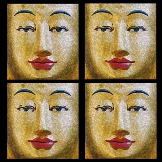 """Face of the Buddha"""