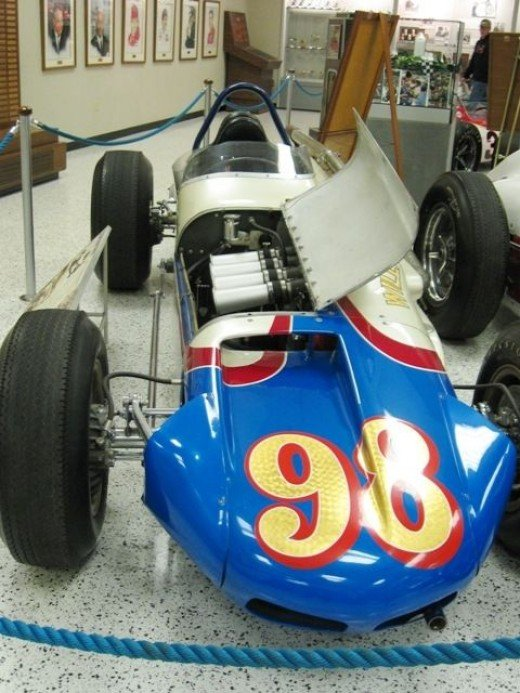 """This is """"Calhoun"""", driven by Parnelli Jones and is the 1963 winner."""
