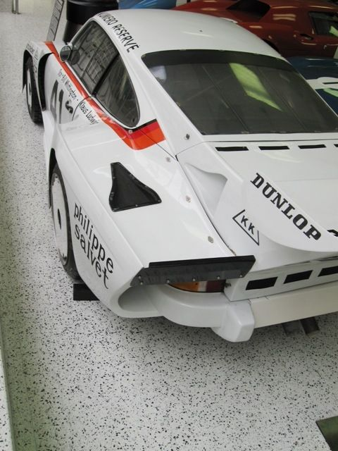 This is a Porsche 935 sports racing car.