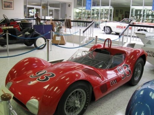 "This is a ""Birdcage"" Maserati, a sports racing car."